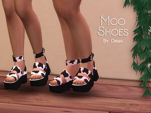 Moo Shoes sims 4 cc