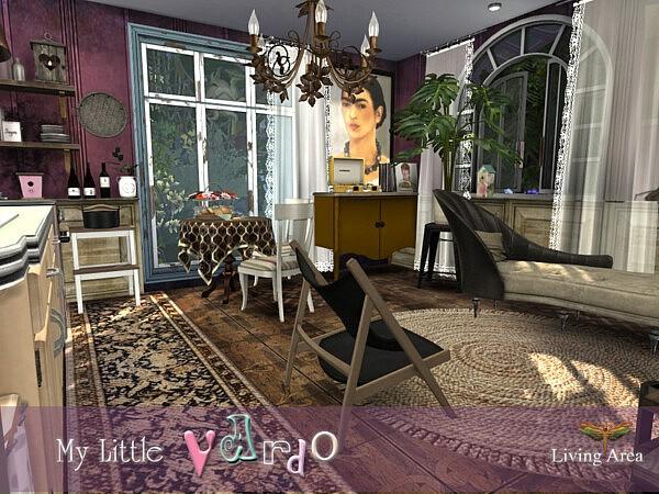 My Little Vardo Living Area