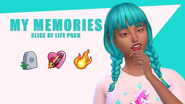 My Memories Pack sims 4 cc
