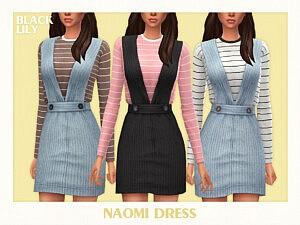 Naomi Dress sims 4 cc
