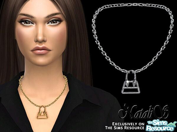 NataliS Bag pendant necklace