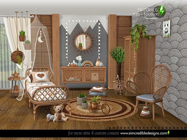 Naturalis Kids room sims 4 cc