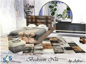 Nia bedroom sims 4 cc