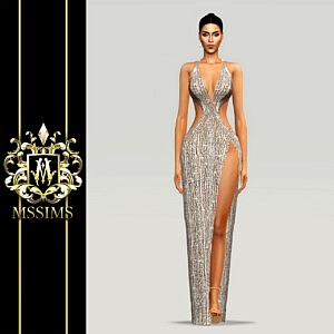 Noble Gown sims 4 cc