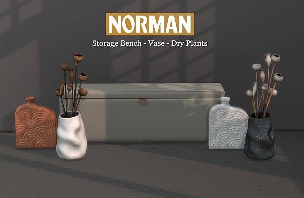 Norman Collection sims 4 cc