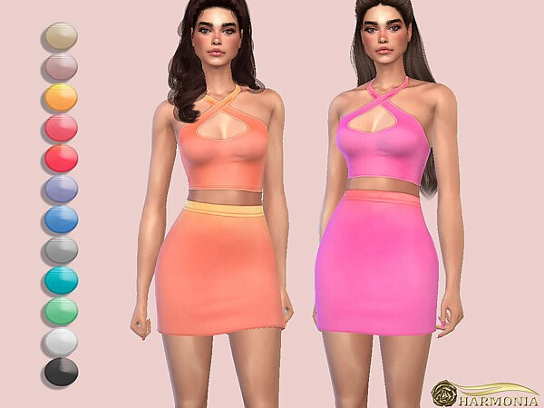 Ombre Print Slinky Top by Harmonia from TSR