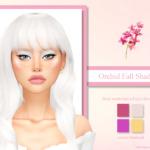 Orchid Fall Shadows sims 4 cc