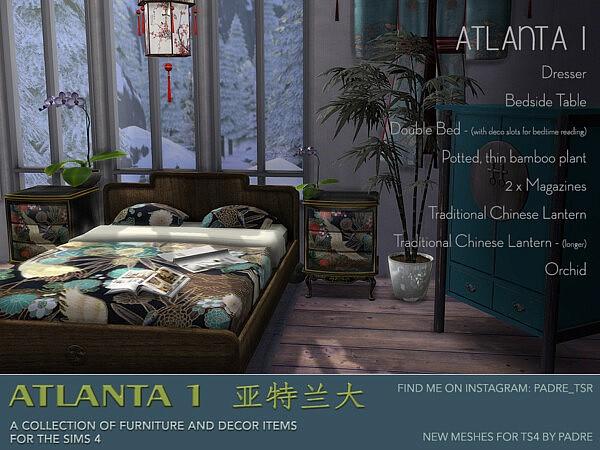 Padre Atlanta 1 Furniture and Deco sims 4 cc