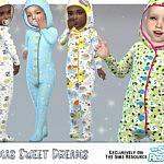 Pajamas Sweet Dreams sims 4 cc