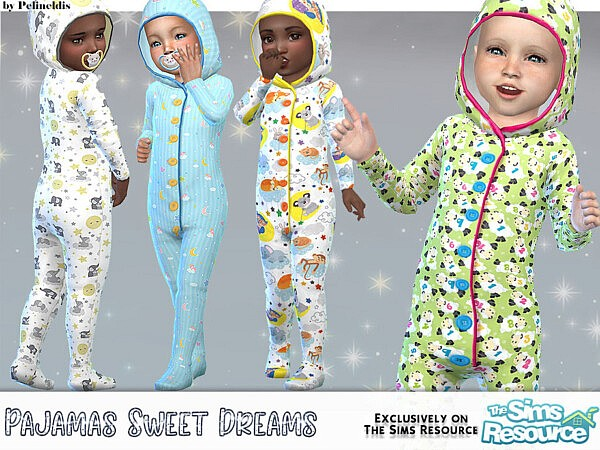 Pajamas Sweet Dreams sims 4 cc