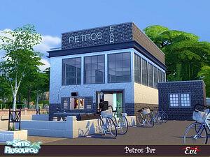 Petros Bar sims 4 cc