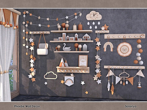 Phoebe Wall Decor by soloriya from TSR