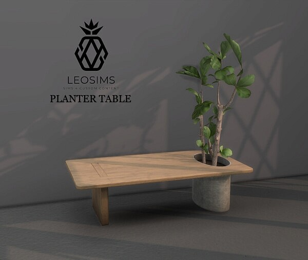 Planter Table from Leo 4 Sims