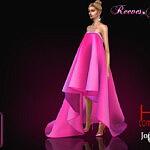 Reeves gala dress sims 4 cc