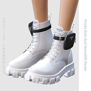 Rois And Monolith Boots sims 4 cc