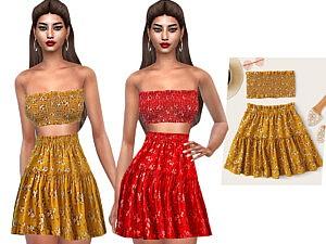 Ruffle Skirts sims 4 cc
