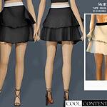 Ruffle skirt sims 4 cc