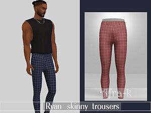 Ryan skinny trousers sims 4 cc