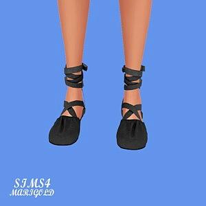 S Ballerina Flat Shoes V2 sims 4 cc