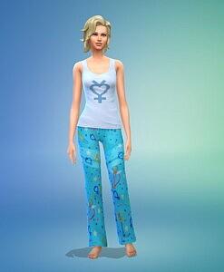 Sailor Scout Pajamas sims 4 cc