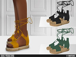ShakeProductions 652 Slippers sims 4 cc