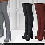 ShakeProductions 664 High Heels sims 4 cc