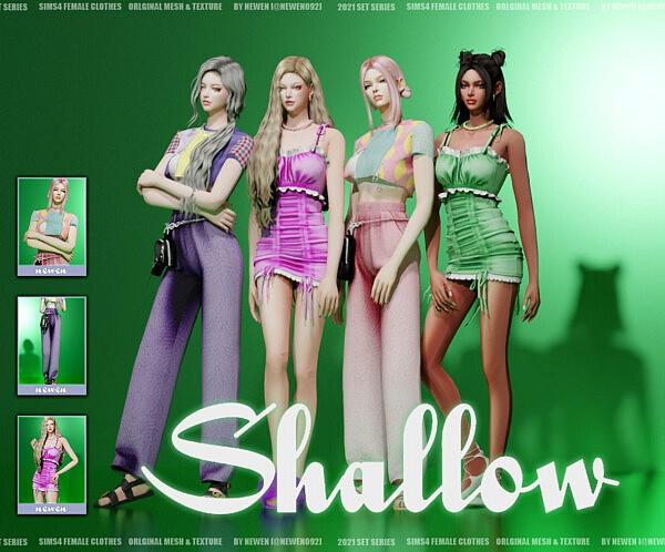 Shallow Set sims 4 cc