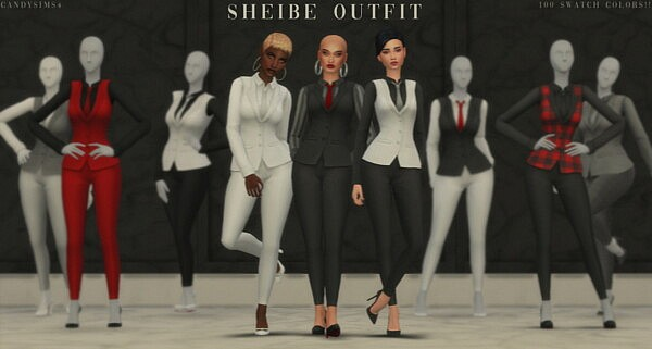 Sheibe Outfit sims 4 cc