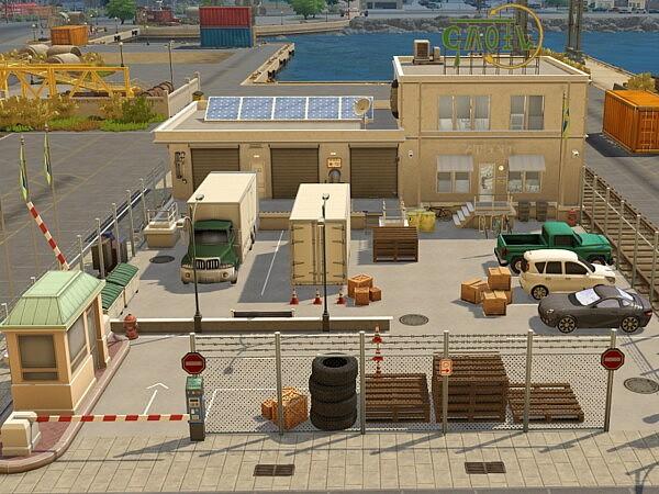 Shipping Company sims 4 cc