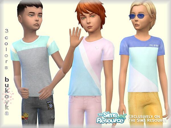 Shirt Color Block child