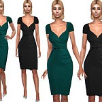 Short Sleeve Formal Dresses