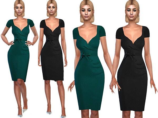 Short Sleeve Formal Dresses by Saliwa from TSR