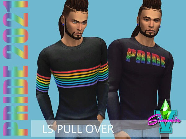 SimmieV Pride21 LS Pull Over