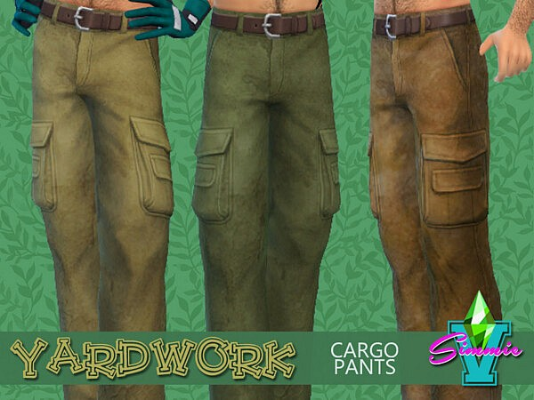 Yardwork Cargo Pants by SimmieV from TSR