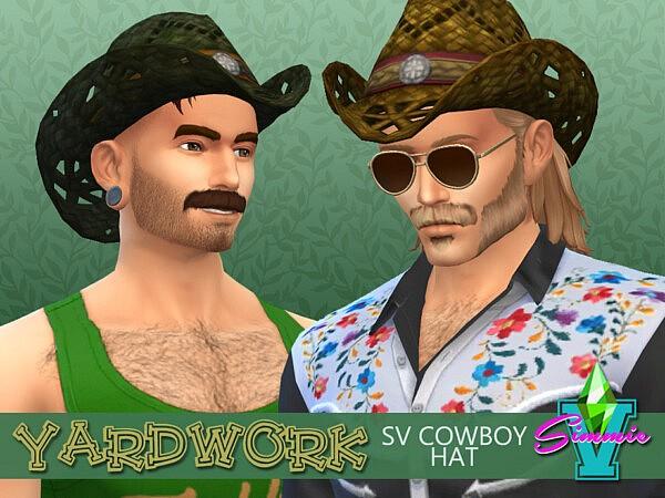 SimmieV Yardwork SV Cowboy Hat