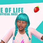 Slice of Life Base sims 4 cc