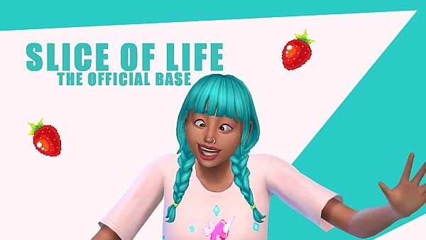 Slice of Life Base sims 4 cc