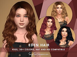 SonyaSims Eden Hair for Kids