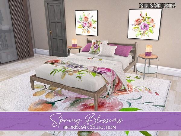 Spring Blossoms Bedroom Pt 1
