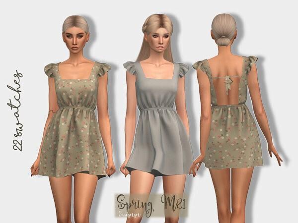 Spring Dress sims 4 cc