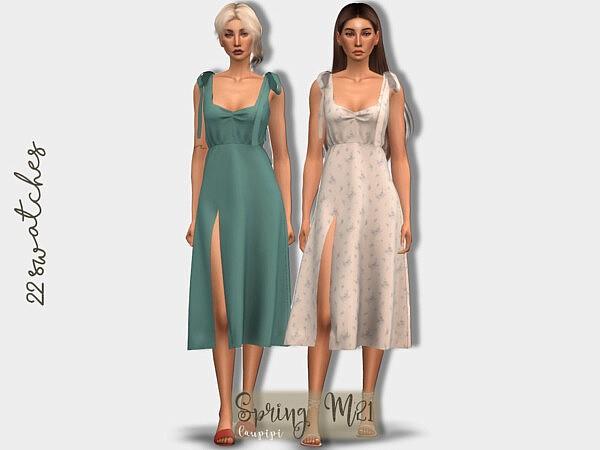 Spring Dress sims 4 cc2