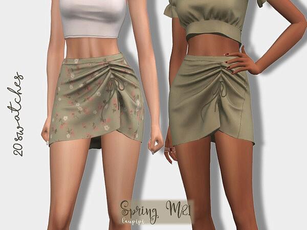 Spring Skirt sims 4 cc