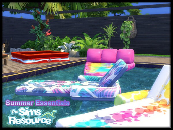 Summer Essentials Collection sims 4 c
