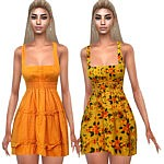 Summer Style Colorful Dresses sims 4 cc