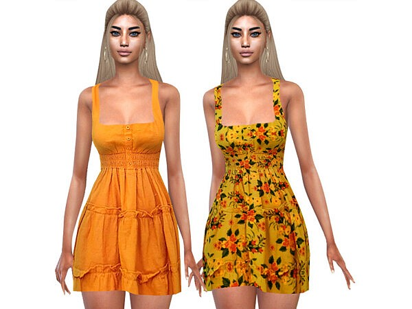 Summer Style Colorful Dresses by Saliwa from TSR
