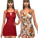 Summer Style Dresses sims 4 cc