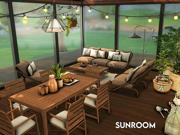 Sunroom sims 4 cc