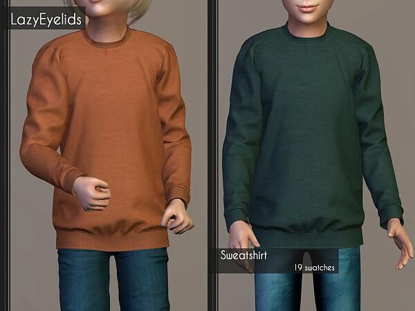 Denim vest, Jumpsuit and Sweatshirt from Lazyeyelids