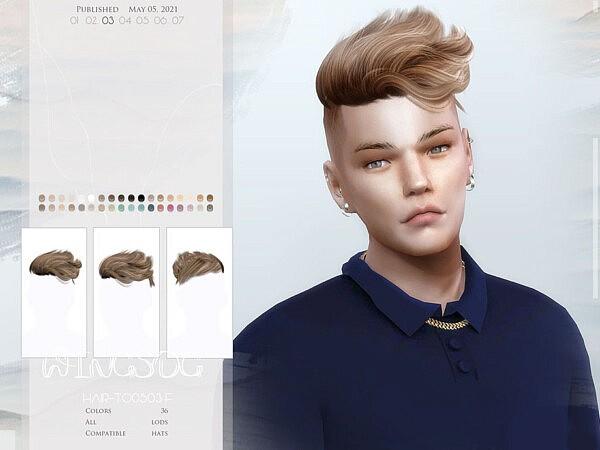 TO0503 hair sims 4 cc