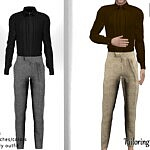 Tailoring Outfit sims 4 cc